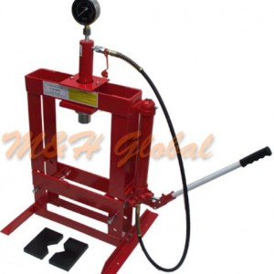 10-Ton-Hydraulic-Shop-Press-Floor-Bench-Top-w-Pressure-Gauge-0